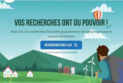 Passez à Lilo : un moteur de recherche eco-solidaire qui permet de reverser de l'argent à Accueil Paysan