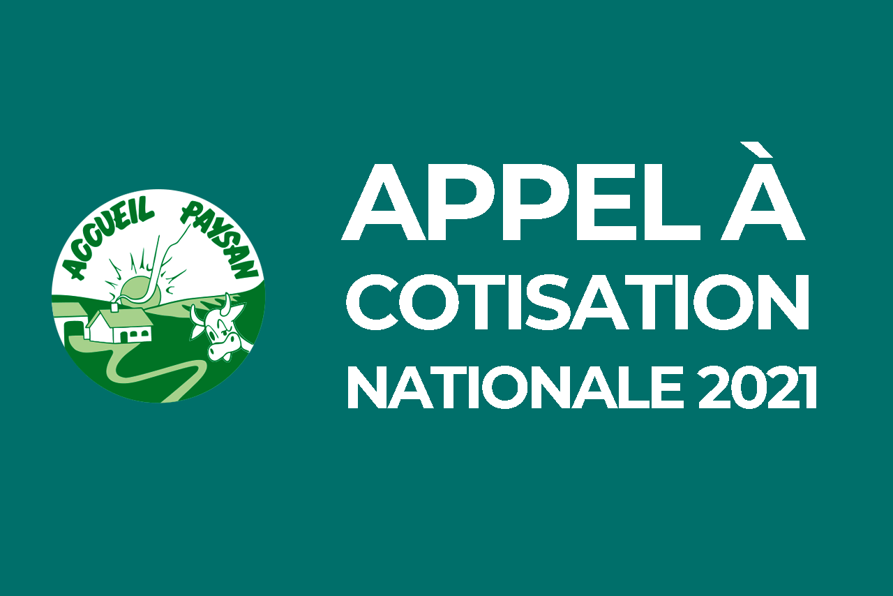 Appel à cotisation nationale 2021