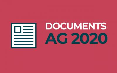 Les documents pour préparer l'AG 2020