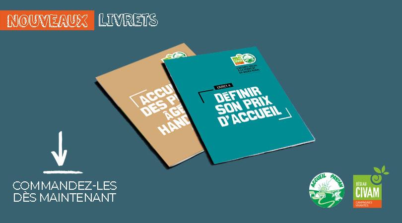 Deux nouveaux livrets de la collection Accueil Social sont disponibles !