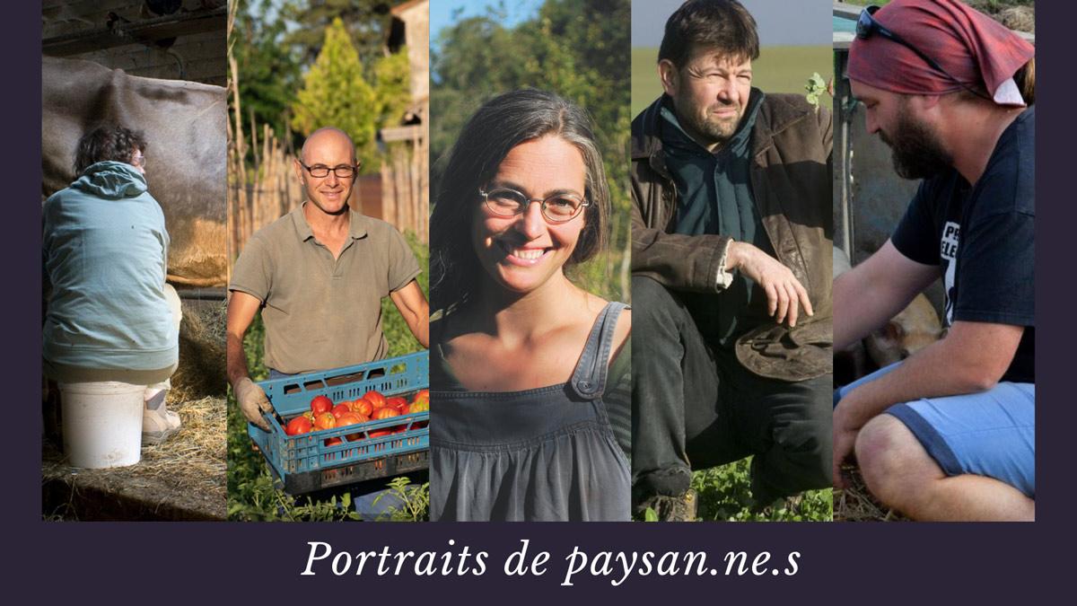 """Prenez part à la campagne """"Portraits de paysan.nes"""" pour valoriser une autre politique agricole et alimentaire"""