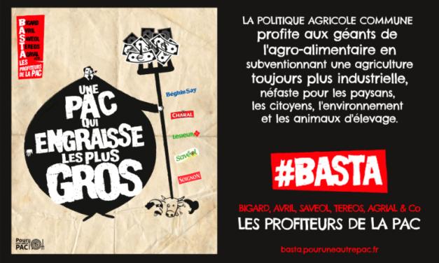 Pour une Autre PAC lance la campagne #BASTA