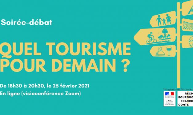 """Accueil Paysan Bourgogne participe au débat en ligne """"Quel tourisme pour demain ?"""" le 25/02"""
