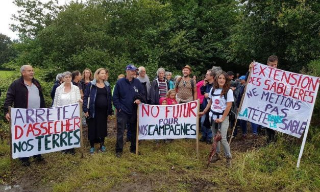 Appel à soutien : Camp de rencontres et d'actions à Saint Colomban (44) du 19 au 21 juin