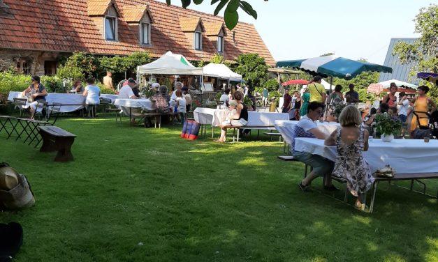 Retour sur La fête estivale de la ferme d'Etiennette et d'Anthony dans la Manche